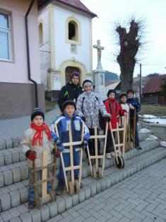 Veľká noc v obci - Rapkáči