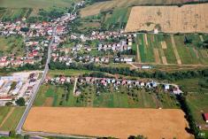 Letecké fotografie obce 2013